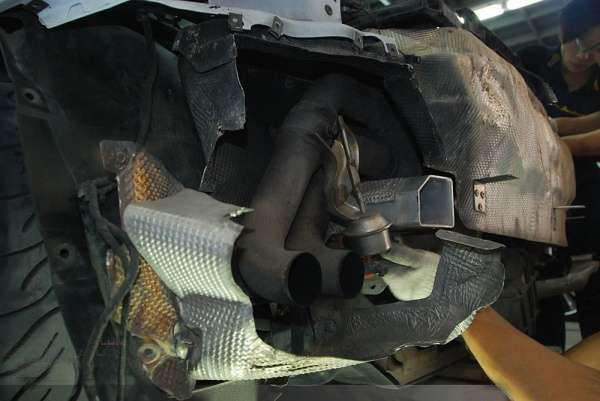 奥迪R8 V8 改装Meisterschaft GTS 尾段排气