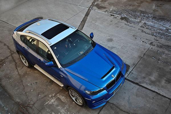 另类蓝精灵,亿佰欧升级改造宝马X6外观