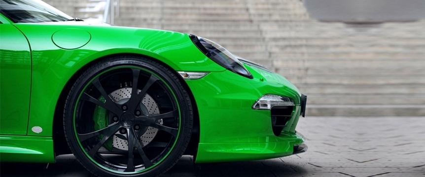 色彩美学  TechArt改装911卡雷拉4S